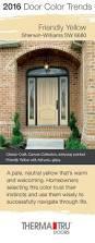 Accent Door Colors by 35 Best 2016 Front Door Color Trends Images On Pinterest Front