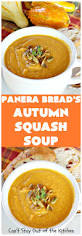 Panera Bread Pumpkin Muffin Carbs by Vegan Pumpkin Soup With Leeks Pears And Apples Can U0027t Stay Out