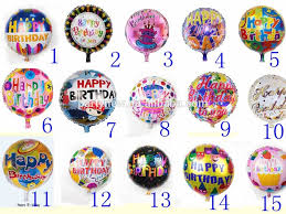 helium birthday balloons 2016 newest 18 inch shape happy birthday foil helium