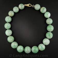 beaded jade necklace images Jumbo natural burmese jade bead necklace jpg