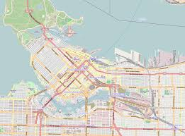Map With Compass File Location Map Canada Vancouver Downtown Png Wikimedia Commons