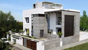 Interior And Exterior Home Design Interior Exterior Plan Lavish Cube Styled Home Design For