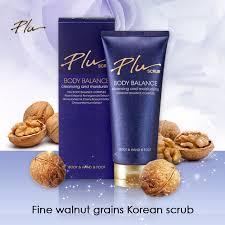 Plu Scrub korean organic plu perfume floral moisturizing