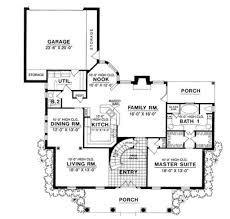 colonial style house plan 4 beds 3 50 baths 3140 sq ft plan 40 190