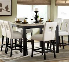 Black Dining Room Set 7 Piece Black Dining Room Set Gen4congress Com