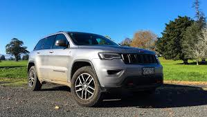jeep grey blue jeep grand cherokee trailhawk 2017 review carsguide