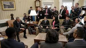 trump s desk daca announcement prompts sharp rebuke from president obama npr