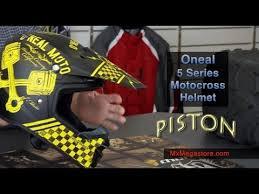 motocross helmet review 2014 oneal 5 series motocross helmet review by mxmegastore com youtube