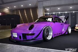 porsche purple super wide porsche by rwb stancenation form u003e function