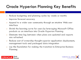 what is oracle hyperion planning centralized web based