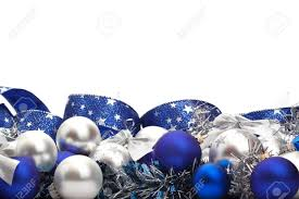 Cobalt Blue Christmas Decorations by Silver And Blue Christmas Decorations And Tree Adornments On