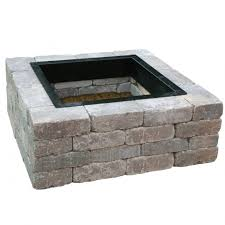 Square Fire Pit Kit by Square Fire Pit Liner Fire Pit Ideas