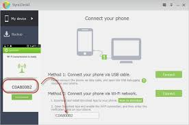 connect android to pc syncdroid free android manager user guide how to use syncdroid