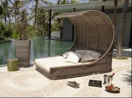 Outdoor Wicker Patio Furniture Round Canopy Bed Daybed - furniture outdoor daybed with canopy outdoor daybed canopy
