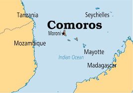 map comoros comoros operation world
