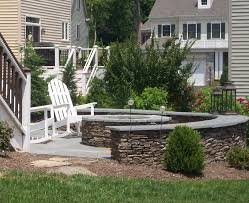 Patio Landscaping Ideas by Outdoor Fire Pit Landscaping Ideas Design Ideas U0026 Decors