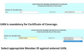 working abroad now get epfo certificate of coverage online to