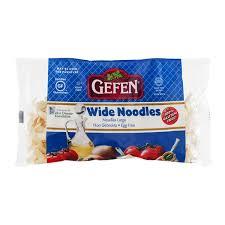 gefen noodles gefen wide noodles egg free from whole foods market instacart