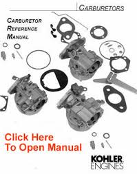 kohler carburetor service parts list kohler engines and parts