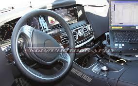 2014 mercedes s class interior exposed 2014 mercedes s class interior exterior spied