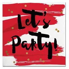 let u0027s party cocktail napkins cute booze