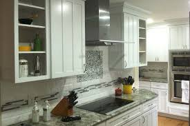 new kitchen construction with white kraftmaid cabinets rotella