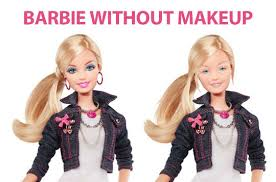 Funny Barbie Memes - barbie doll without makeup