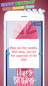 happy birthday card maker free u2013bday greeting cards on the app store