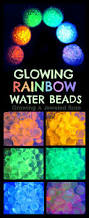 Glow In The Dark Home Decor Make Glow Water By Breaking Open A Highlighter And Running Water