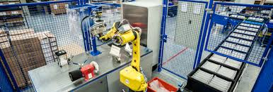 polishing and packing with robots