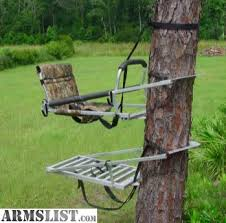 armslist for sale trade gunslinger combo climbing tree stand