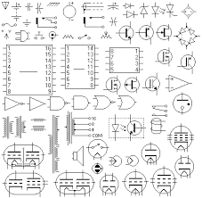 harness electrical schematic symbols
