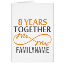 8th wedding anniversary cards photocards invitations more
