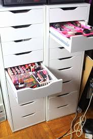 Where Do You Put Your Makeup On by Diva Makeup Queen Diy Ikea Alex Drawers For Makeup Collection