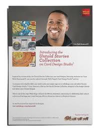 Wells Fargo Card Design Wells Fargo Celebratory Bhm U2014 Maria An