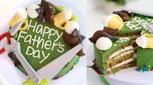 how to make a father u0027s day cake chocolate decorations recipe