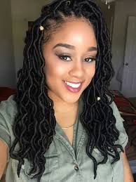 what type of hair to do crochet braid here s how you can install super long goddess faux locs on any hair
