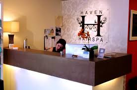 Hairdressing Reception Desk Hair Salon Reception Desk New York By Surface Scapes