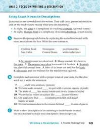 precise nouns lesson plans u0026 worksheets reviewed by teachers
