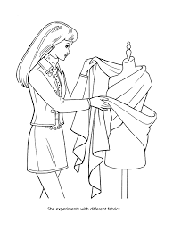 fashion coloring pages 26924 bestofcoloring com