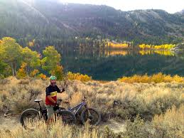 june lake autumn beer festival fatbike fall colors ride