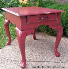 queen anne end tables end tables painted glazed distressed facelift furniture