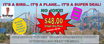 Six Flags Discovery Kingdom Discounts Visit Vallejo California U2013 City Of Vallejo Ca
