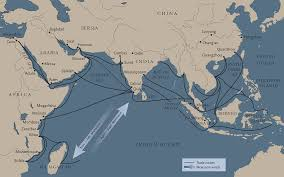 Indian Ocean Map Trade Routes Map Home Sweet Home Pinterest