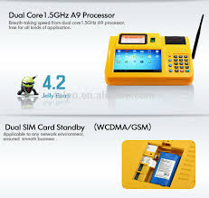 Business Card Reader For Android Android Pos Terminal System With Card Reader For Sports Betting