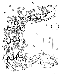 bluebonkers santa claus coloring pages 1