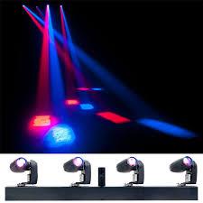 american dj led lights adj american dj event bar q4 rgbw with 4 led pinspot lights pssl