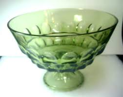 Pedestal Punch Bowl Pedestal Punch Bowl Etsy