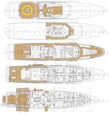 luxury yacht floor plans stella maris layout yachts pinterest deck plans