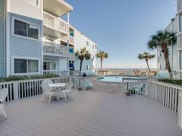 2bd 2ba ocean view condo in an oceanfront three story building